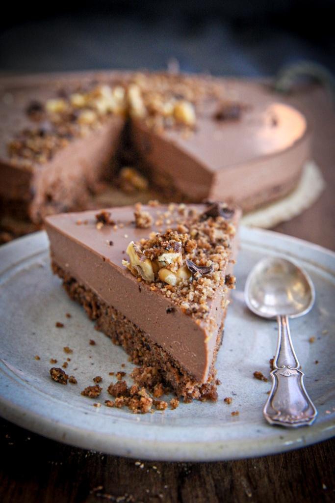 Taivaallinen suklaajuustokakku
