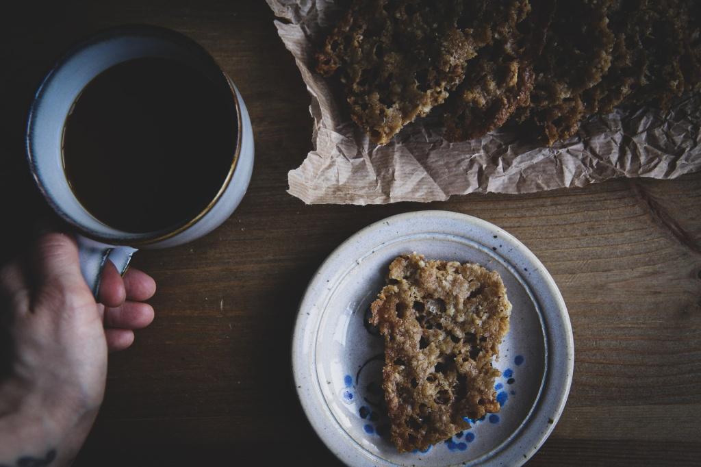 Gluteenittomat ja vegaaniset pähkinä-kaurakeksit